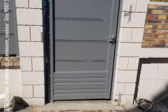 Portail portillon et cloture aluminium cetal modele broderie