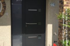 Porte d'entrée Aluminium SOLOBLOC panneau NEO