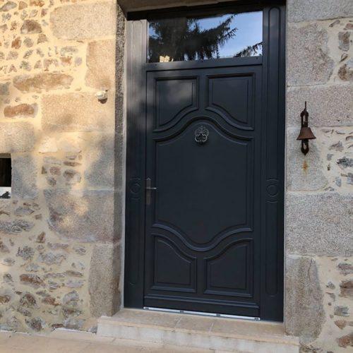 Porte d'entrée BOIS Atulam